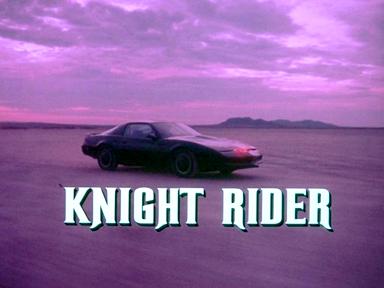 On the horizon_Knight Rider