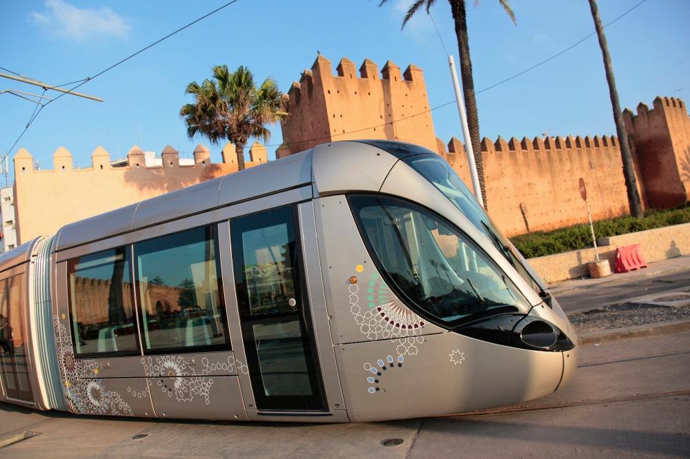 Tramway Citadis Rabat MAroc