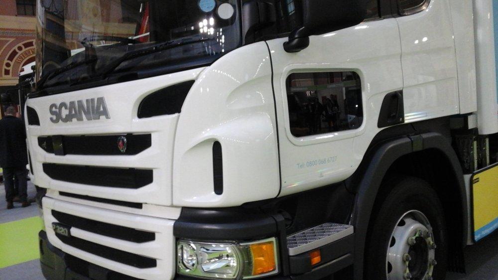 Scania truck door