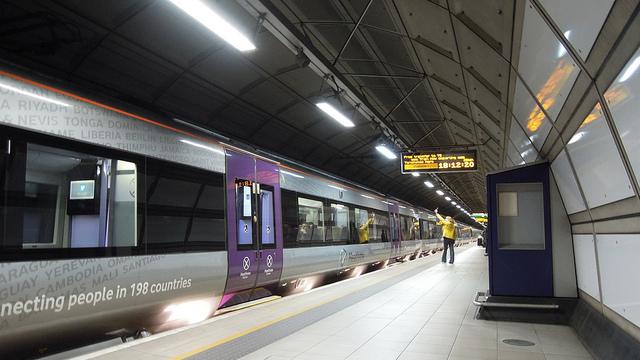 Heathrow Express_Flickr_David McKelvey