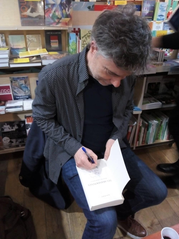 Les Abandonnes_book reading 2